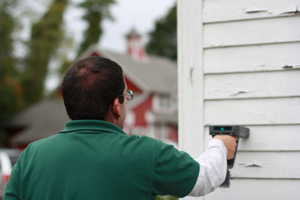 Rinehart inspection services home inspection services for Lead based paint inspection
